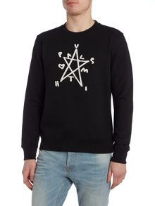 Paul Smith Jeans Exclusive crew neck star print sweatshirt