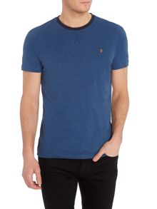 Farah Newbury regular fit micro stripe t shirt