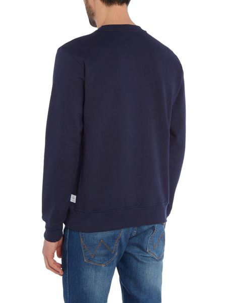 Paul Smith Jeans Crew neck monkey print sweatshirt