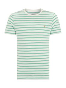 Farah Gieger regular fit striped t shirt