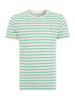 Gieger regular fit striped t shirt