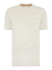 Farah Denny marl regular fit crew neck t shirt