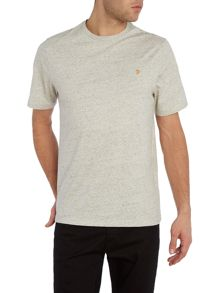 Denny marl regular fit crew neck t shirt