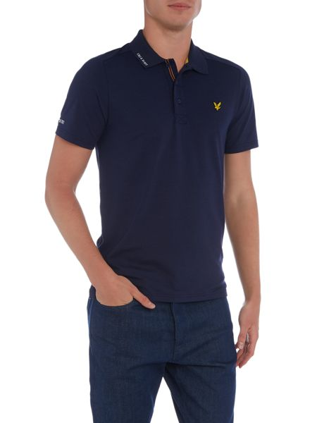 Lyle and Scott Golf Hawick Technical Polo Shirt
