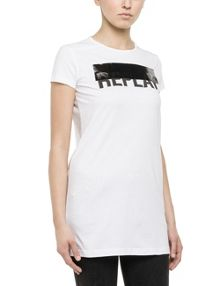 Replay Soft jersey long t-shirt