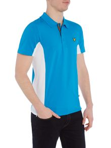 Lyle and Scott Golf Tech Contrast Side Polo Shirt