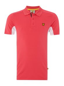 Tech Contrast Side Polo Shirt