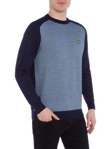Lyle and Scott Golf Micro Argyle Pullover Jumper