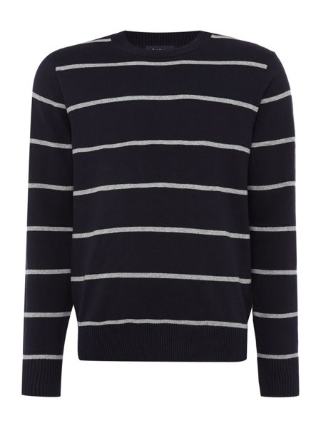Paul Smith Jeans Long sleeve striped crew neck jumper