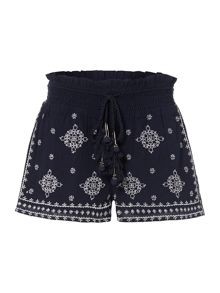 Linea Weekend Atlas embroidered shorts