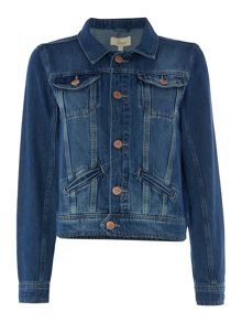 Linea Weekend Washed denim jacket