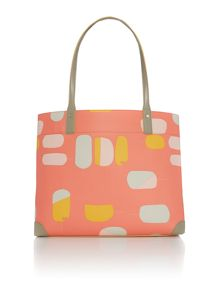 Radley Lollipops orange large tote