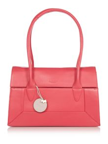 Radley Border pink medium flap over tote bag