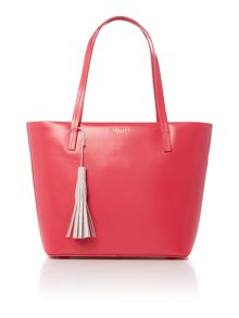 Radley De beauvoir pink large tote bag