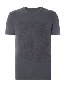 Label Lab Bamboo Faded Tee Graphic