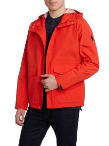 Paul Smith Jeans Hooded waterproof jacket