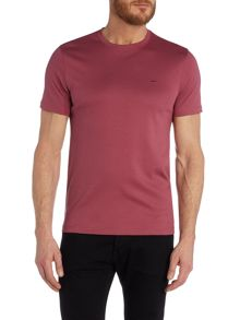 Michael Kors Slim fit plain sleek MK crew neck t shirt
