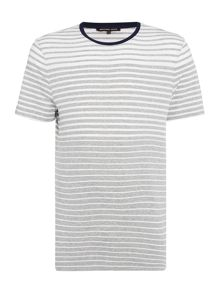 Michael Kors Regular fit stripe short sleeve crew neck t shirt
