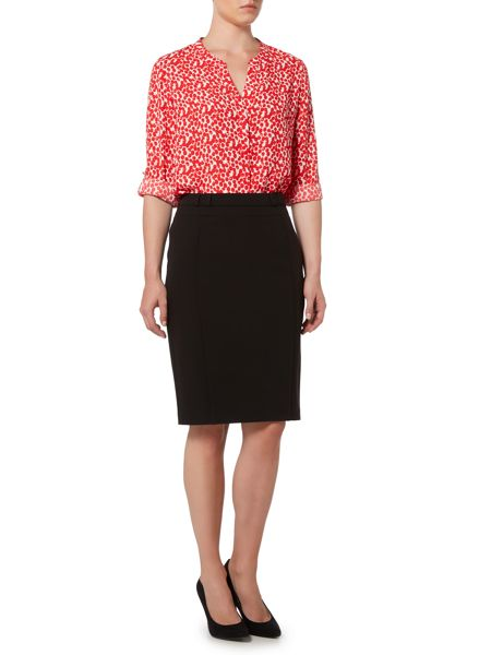 Linea Faye tailored pencil skirt
