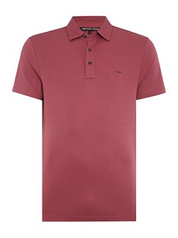 Regular fit sleek MK short sleeve polo shirt