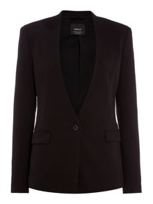 Replay V-neck stretch jacket