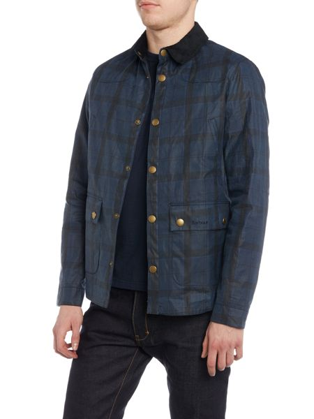 Barbour Reelin wax jacket