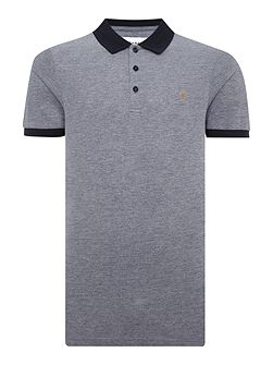 Elstead Regular Fit Contrast Collar Polo Shirt
