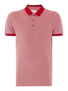 Farah Elstead Regular Fit Contrast Collar Polo Shirt
