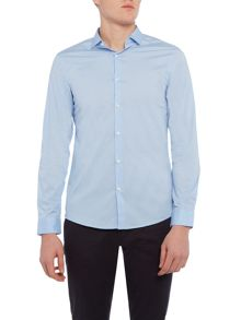 Michael Kors Slim fit cotton stretch plain shirt