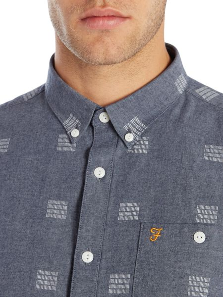 Farah Lydon regular fit printed chambray shirt
