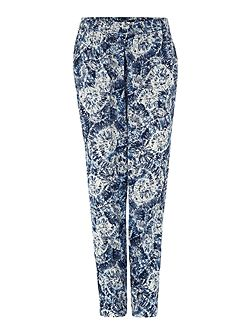 Fossil printed trouser