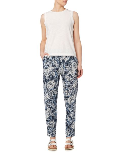 Linea Weekend Fossil printed trouser