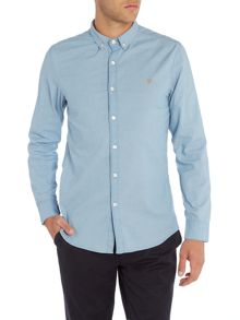 Farah Brampton slim fit denim shirt