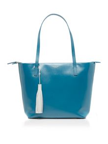 Radley De beauvoir blue large tote bag