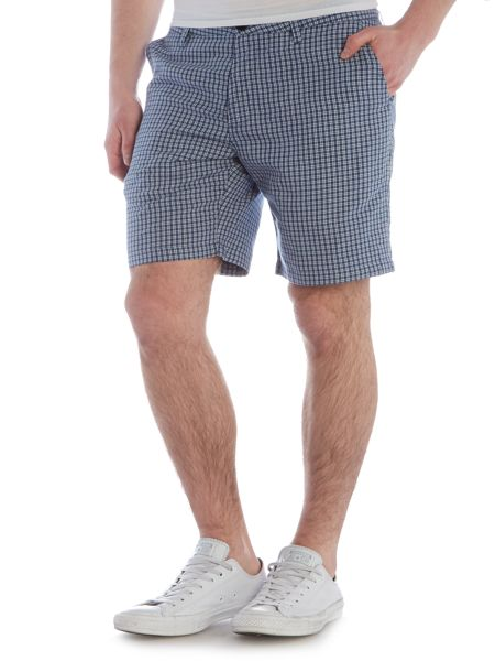 Paul Smith Jeans Regular fit gingham shorts