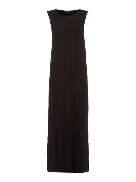 Therapy Winter Wrap Front Maxi Dress