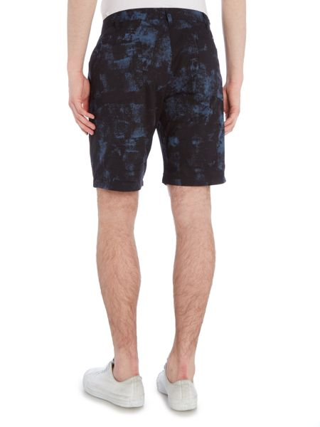 Paul Smith Jeans Regular fit paint print shorts