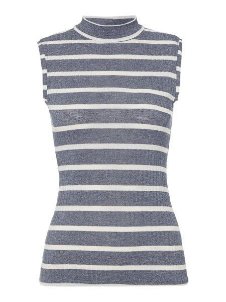 Therapy Tilly Turtle Neck Sleeveless Top