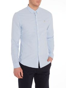 Farah Endell slim fit oxford dobby shirt