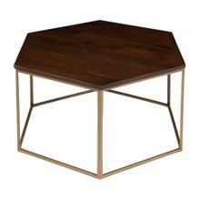 Living by Christiane Lemieux CLEO HEXAGONAL COFFEE TABLE