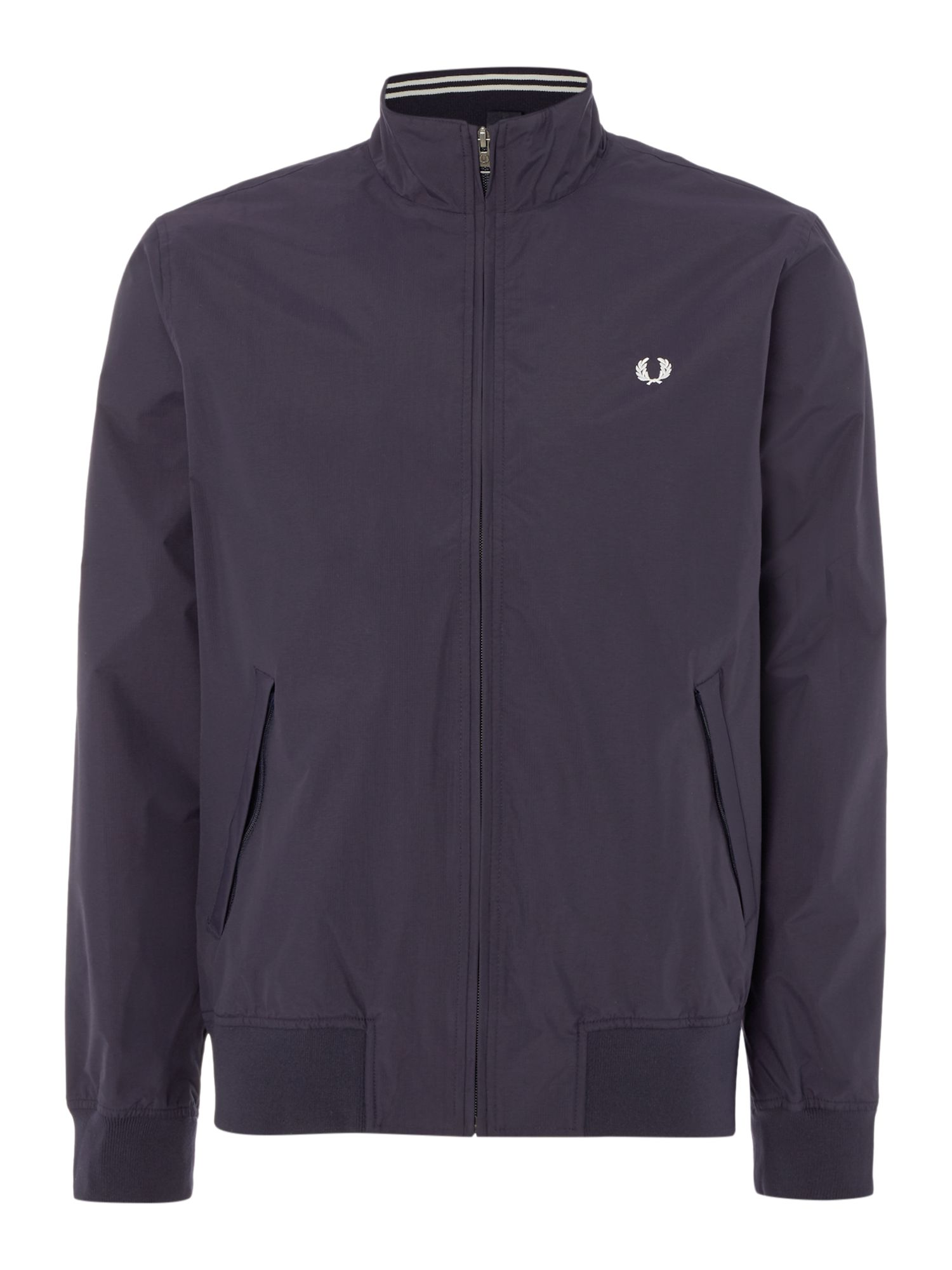 Mens Fred Perry Brentham jacket Navy