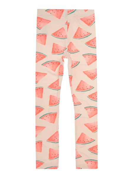 name it Girls Watermelon all over print leggings