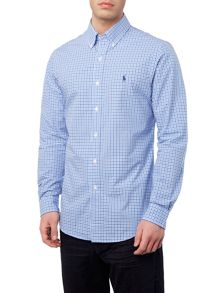 Polo Ralph Lauren Multi gingham long sleeve slim fit sports shirt