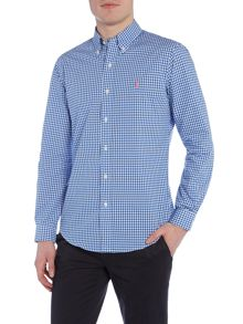 Slim-Fit Checked Shirt