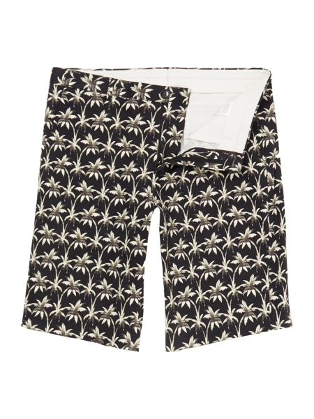 PS By Paul Smith Regular fit all over palm print short