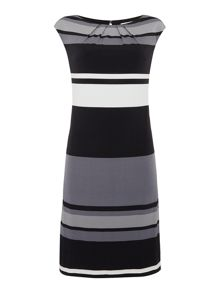 Linea Stripe tunic dress