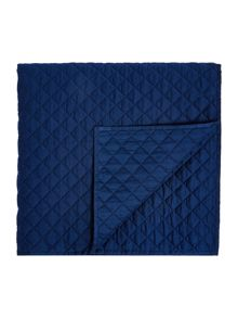 Linea Sateen quilted topper, navy