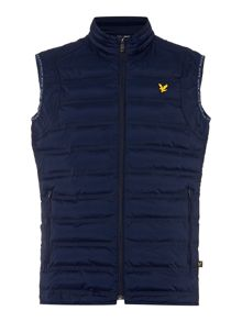 Lyle and Scott Sports Zip-Through Gilet