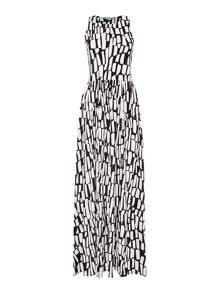 Dickins & Jones Tribal Print Maxi Dress
