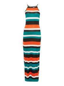 Therapy Mae Multi Stripe Maxi Dress